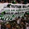 Denizlispor'dan Bursaspor'a Pankartlı Destek